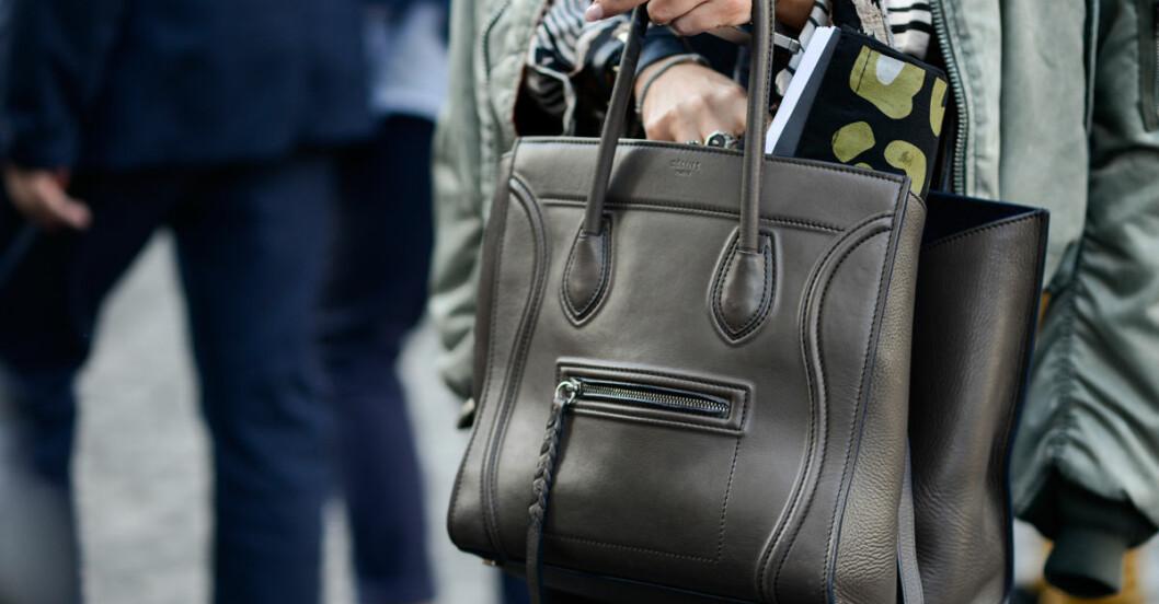 ont i ryggen handväska