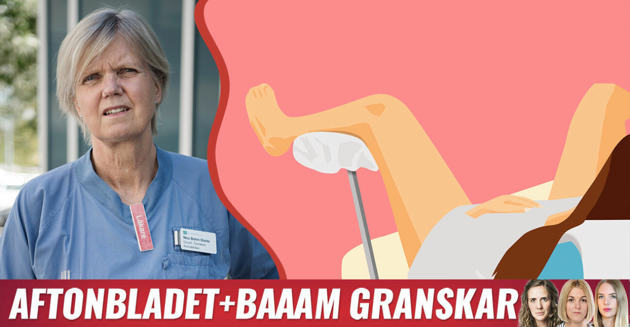 Läkaren Nina Bohm Starke som är expert på smärta i underlivet.