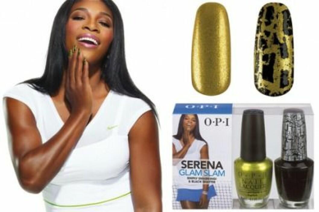 Serena Williams har skapat Glam Slam Collection för OPI.