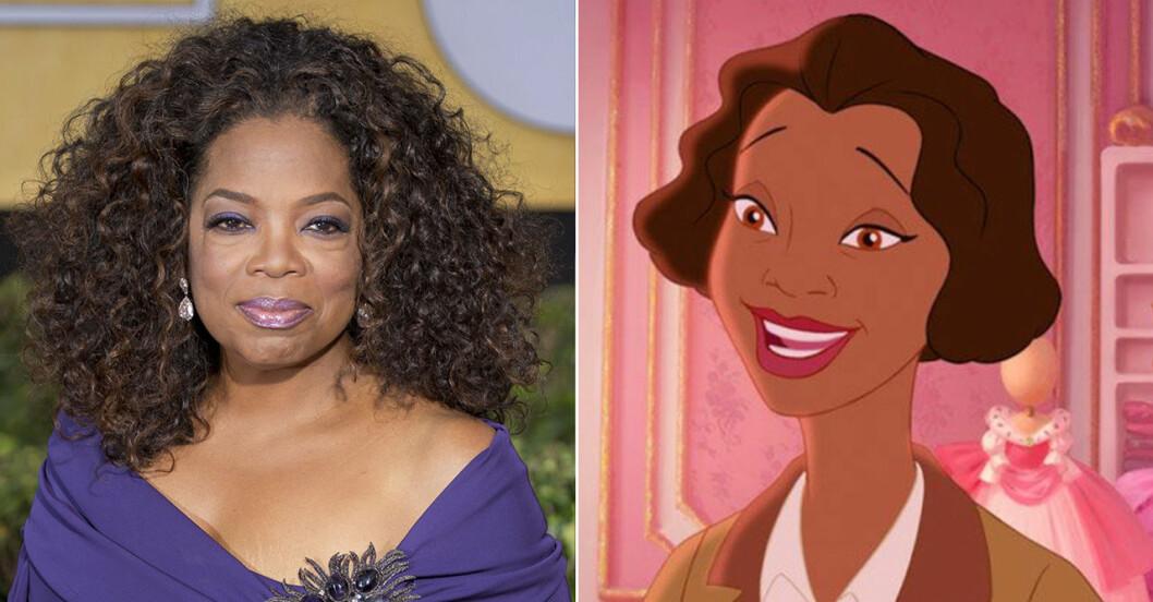 Oprah Winfrey som Eudora (Tianas mamma) i Prinsessan och grodan (2009):