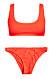 Orange bikini för dam till 2019