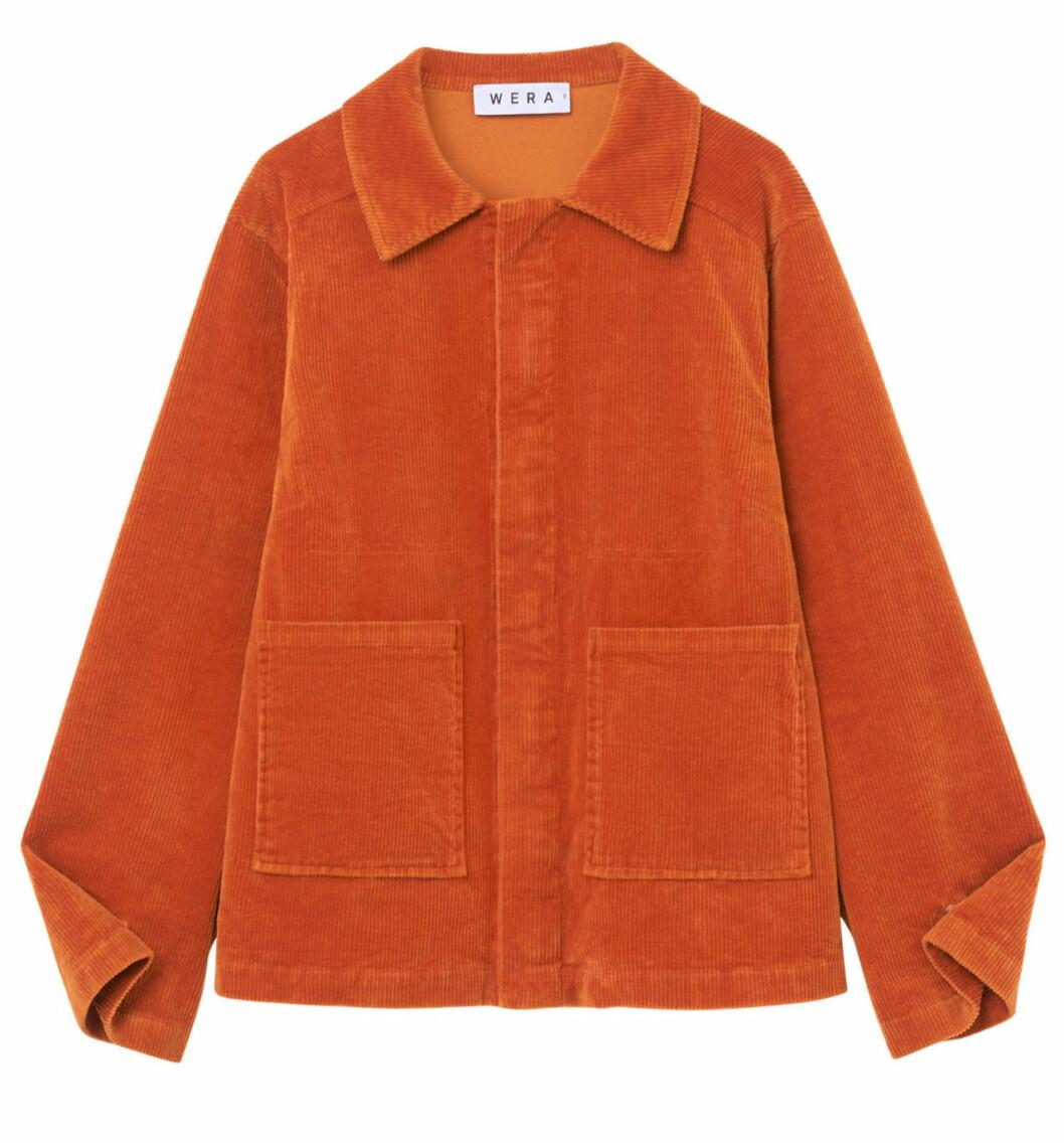 Orange manchesterjacka