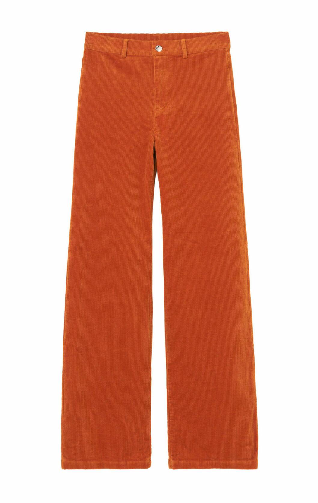 Orange manchesterbyxa
