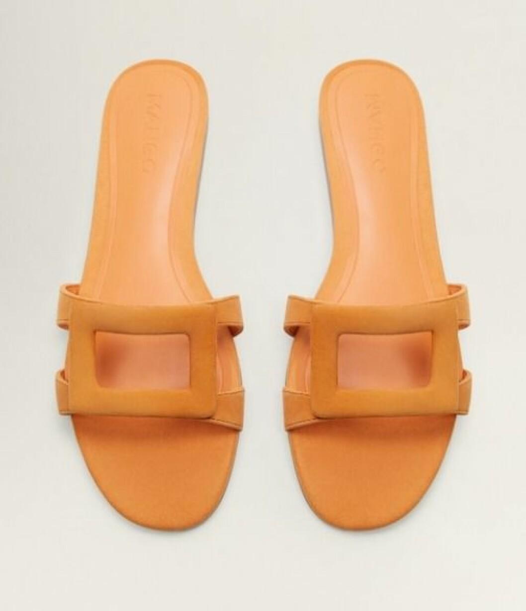 Orange sandaler för dam till 2019 från Mango