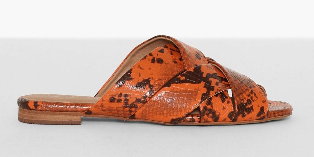 Orange sandaler för dam till 2019