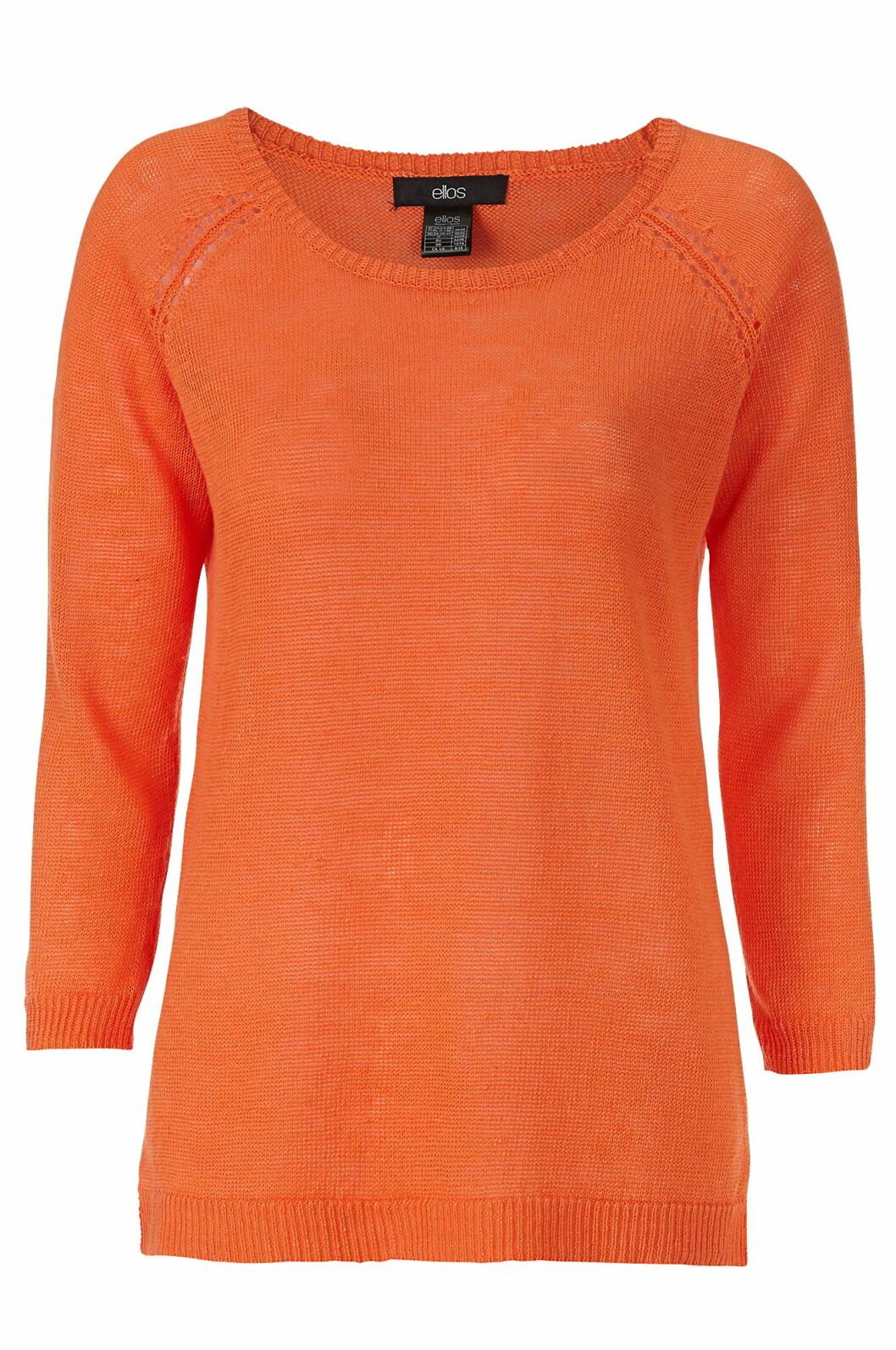 orange tröja