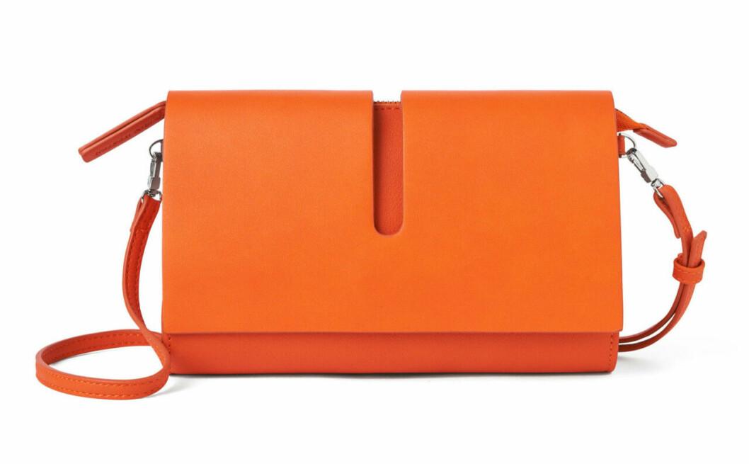 Orange väska till våren 2019