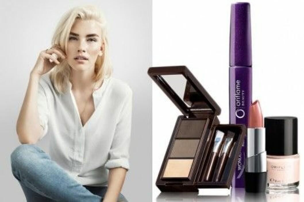 Elsa Ekman har valt ut tre makeupkit  med favoritprodukter från Orilame.