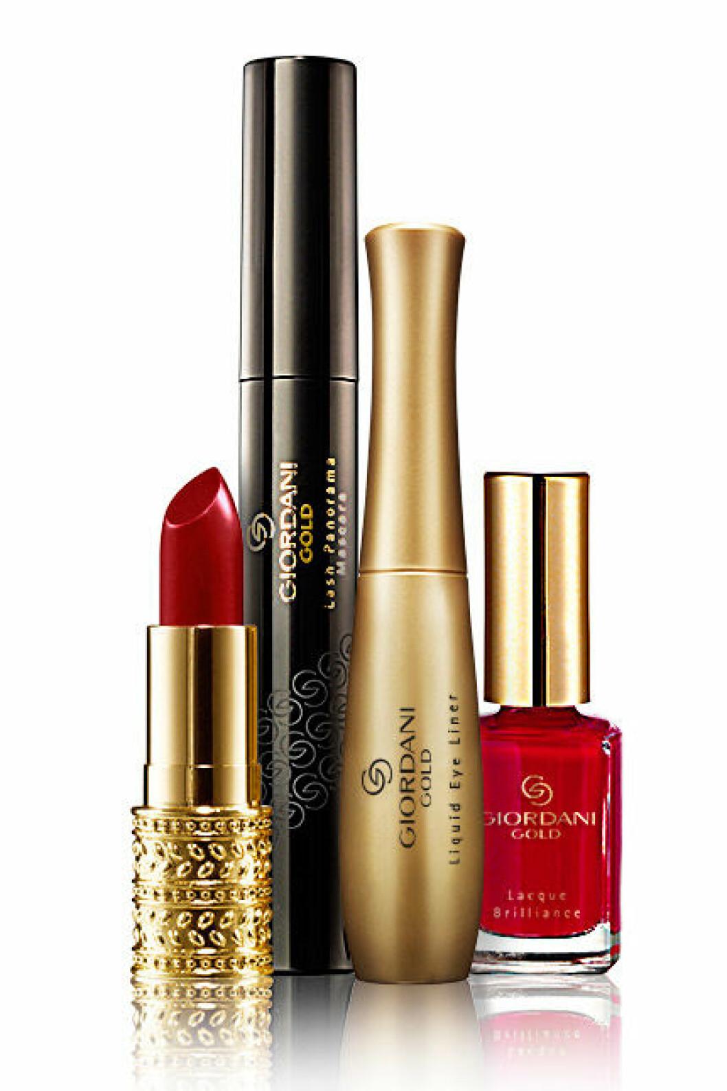 Makeupkitet Red by Elsa Ekman för Oriflame kostar 349 kr.
