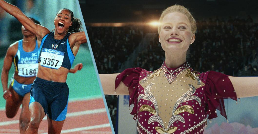 Marion Jones och Tonya Harding i OS skandaler