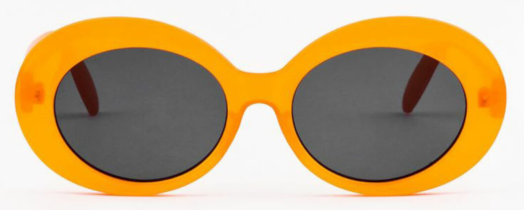 ovana solglasögon orange