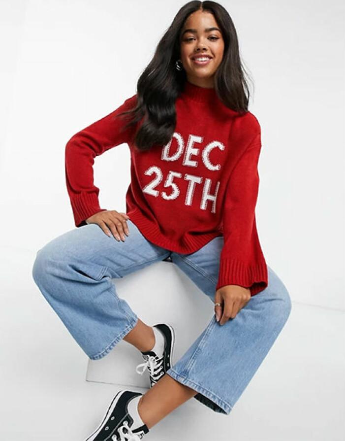 oversize jultröja för dam