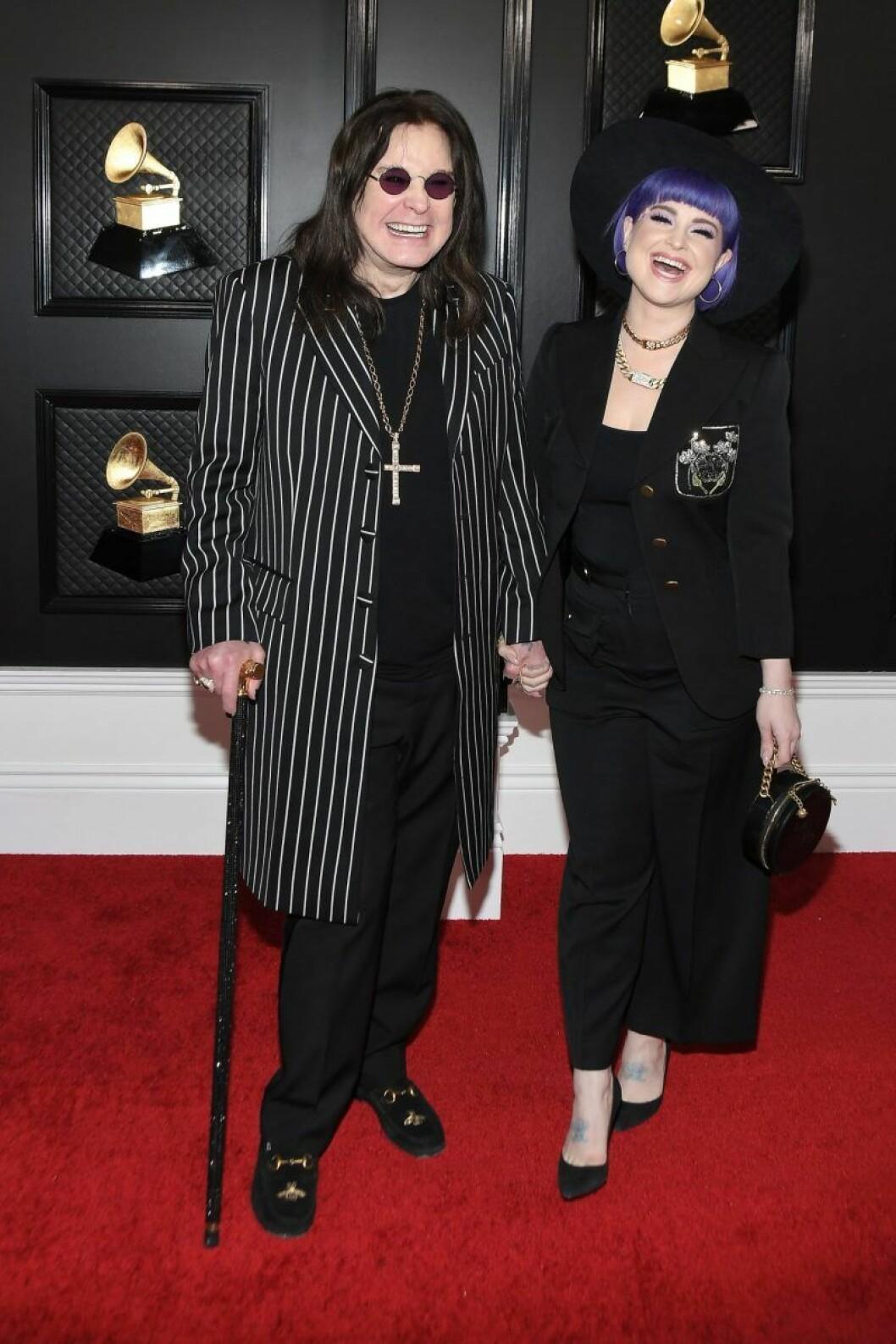 Ozzy och Kelly Osbourne Grammy Awards 2020