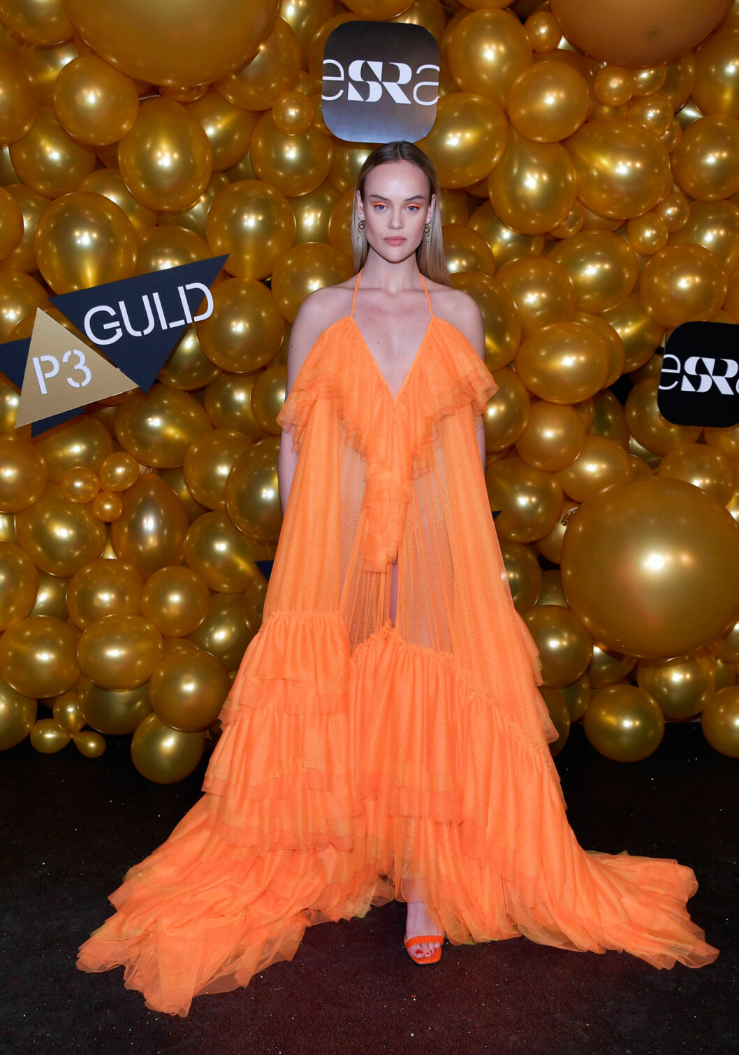 Röda mattan P3 Guld, Amanda Winberg