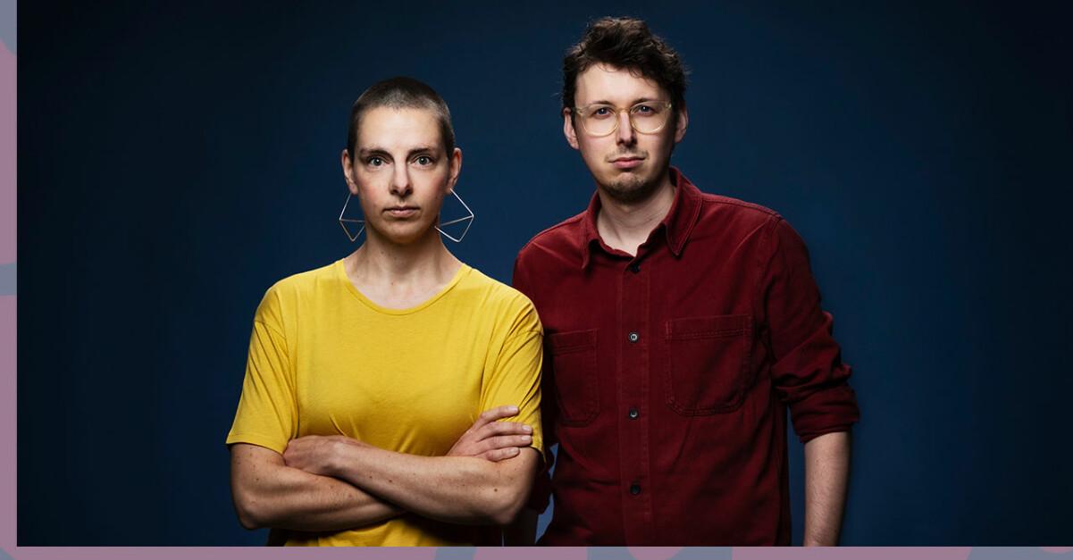Evalisa Wallin och Viktor Ahlmén i Sveriges radios nya satsning P3 Krim.