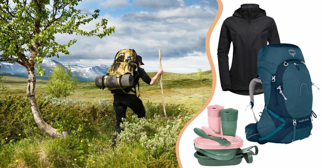 Fjällvandring packlista: Allt du behöver