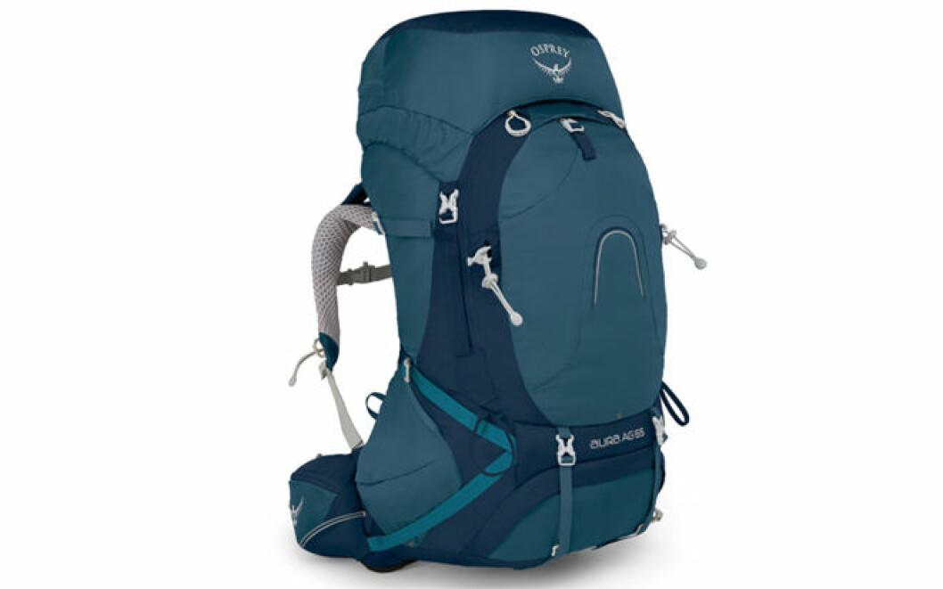 Fjällvandring packlista: Ryggsäck