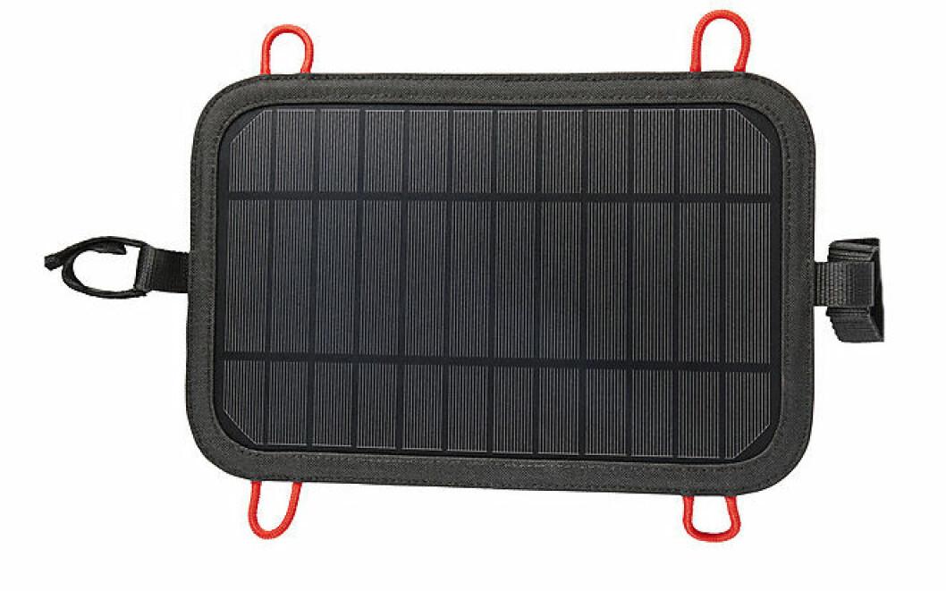 Fjällvandring packlista: Solcellsladdare