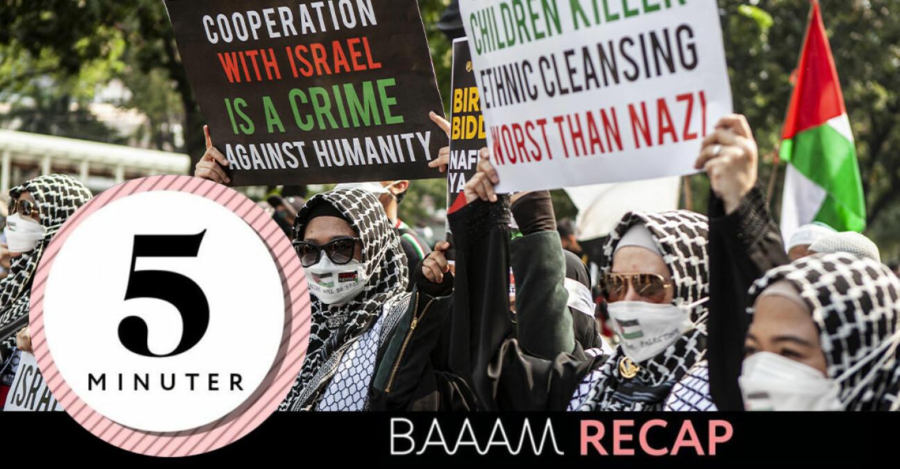 Konflikten mellan Palestina och Israel
