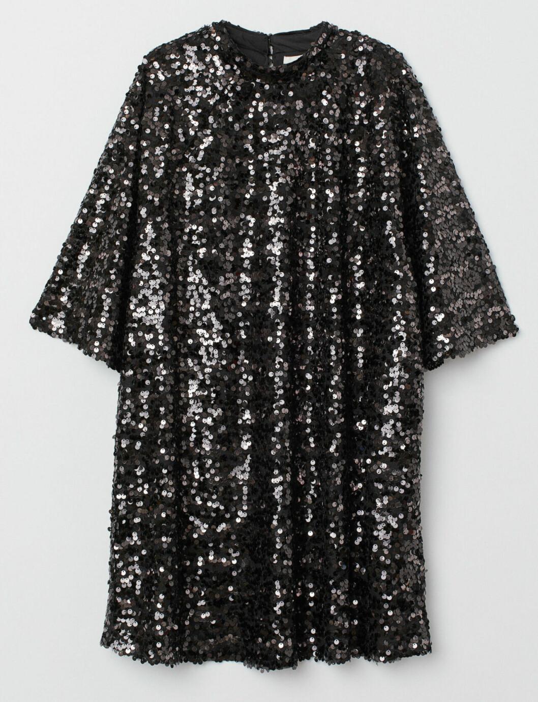 Paljettklänning till nyårsafton 2018