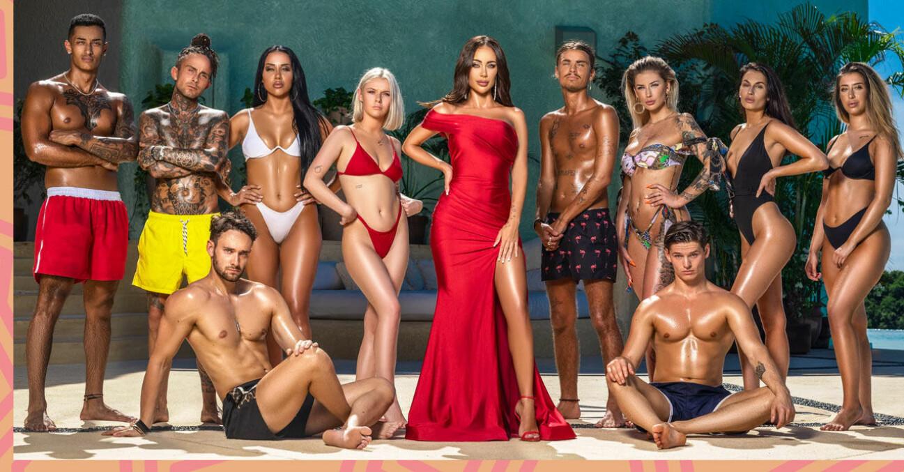 Paradise hotel gruppbild 2020