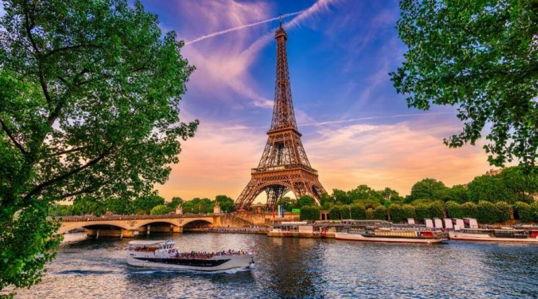 Åk till Paris på smekmånad.