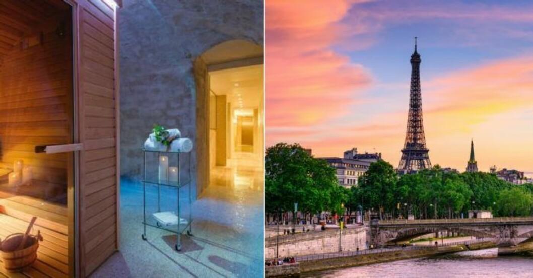 Spahotell i Paris