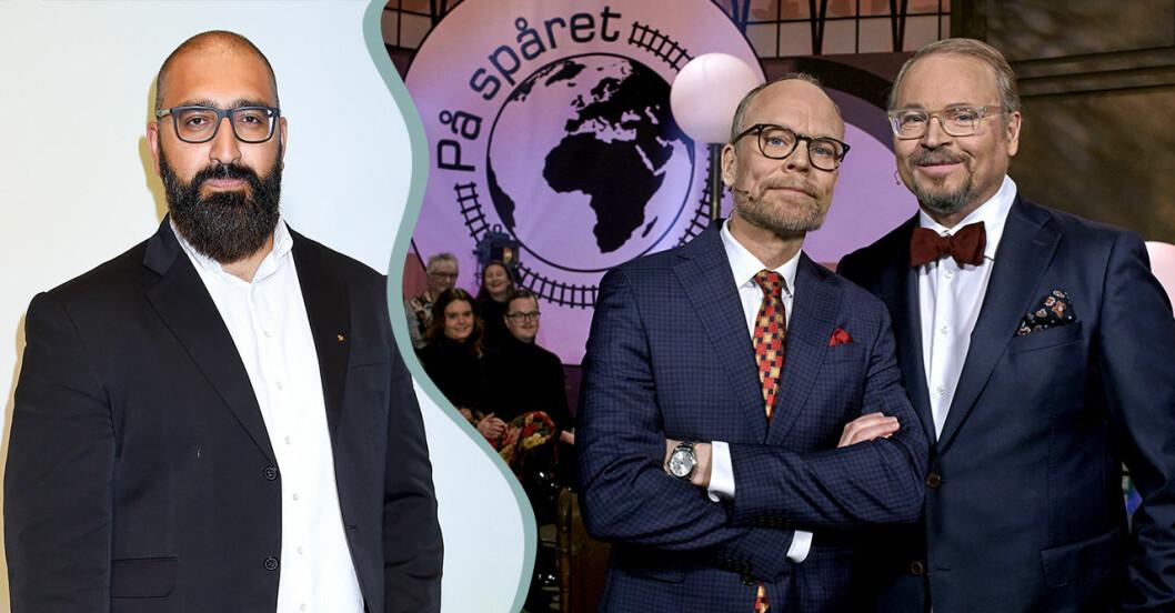 SVT tar bort avsnitten med Hamid Zafar i På spåret 2020