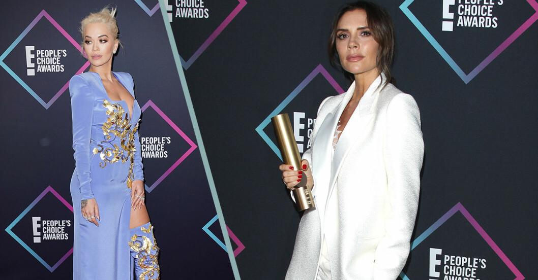 Röda mattan på People choice awards 2018