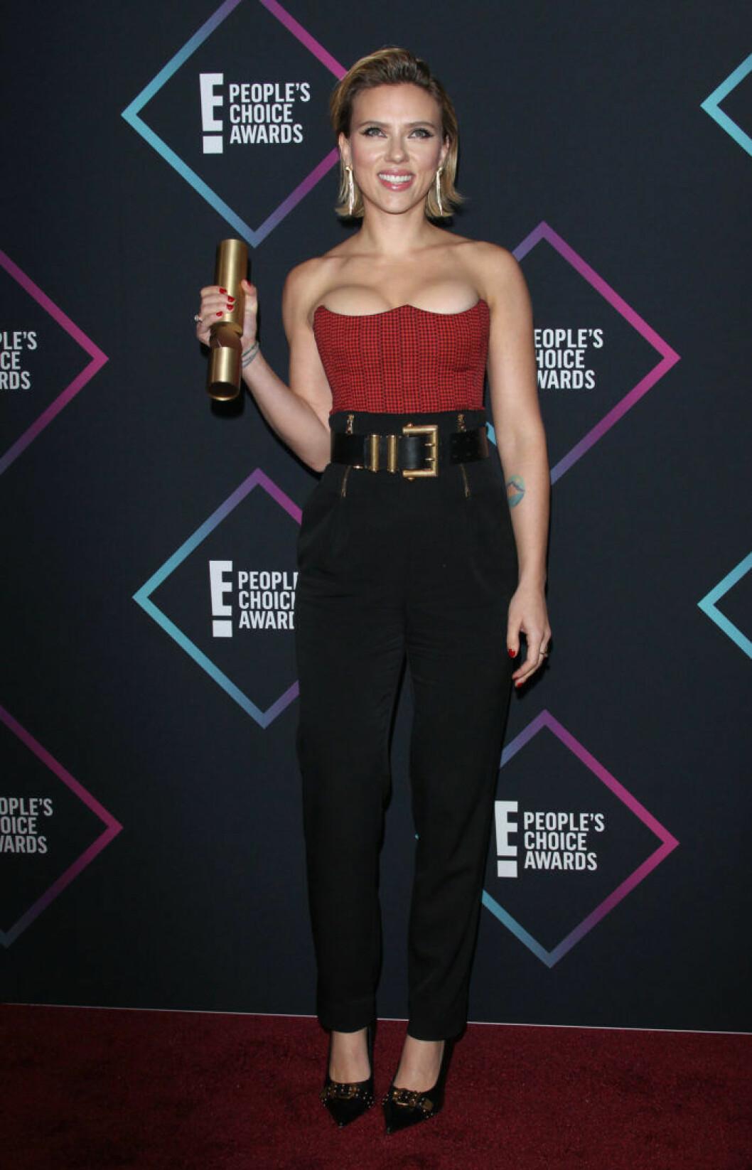Scarlett Johansson på eople's Choice Awards 2018