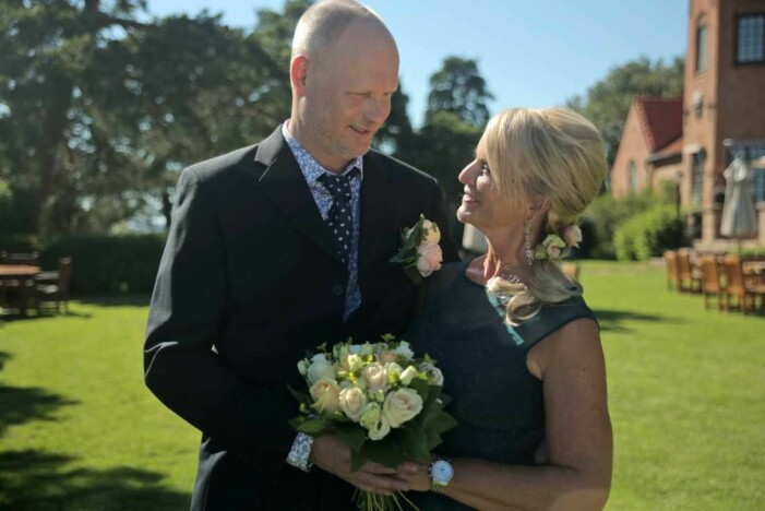 Per Rydergård och Eva Strand gifter sig i Gift vid första ögonkastet.