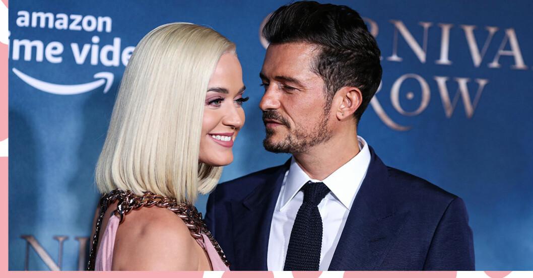 Katy Perry hyllas rejält av fästmannen Orlando Bloom