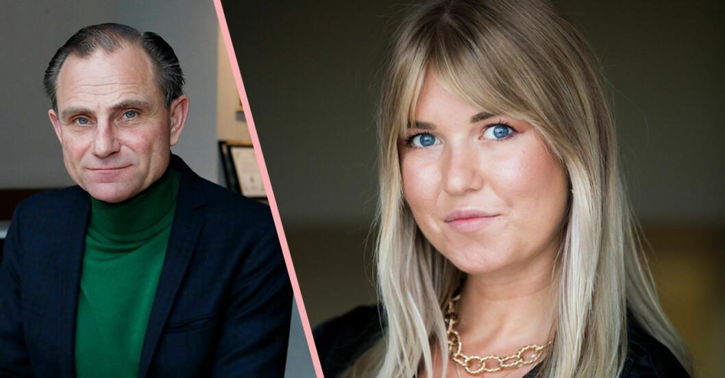 Johanna Bladh lämnade studion efter Peter Wahlbecks uttalande i Gott snack