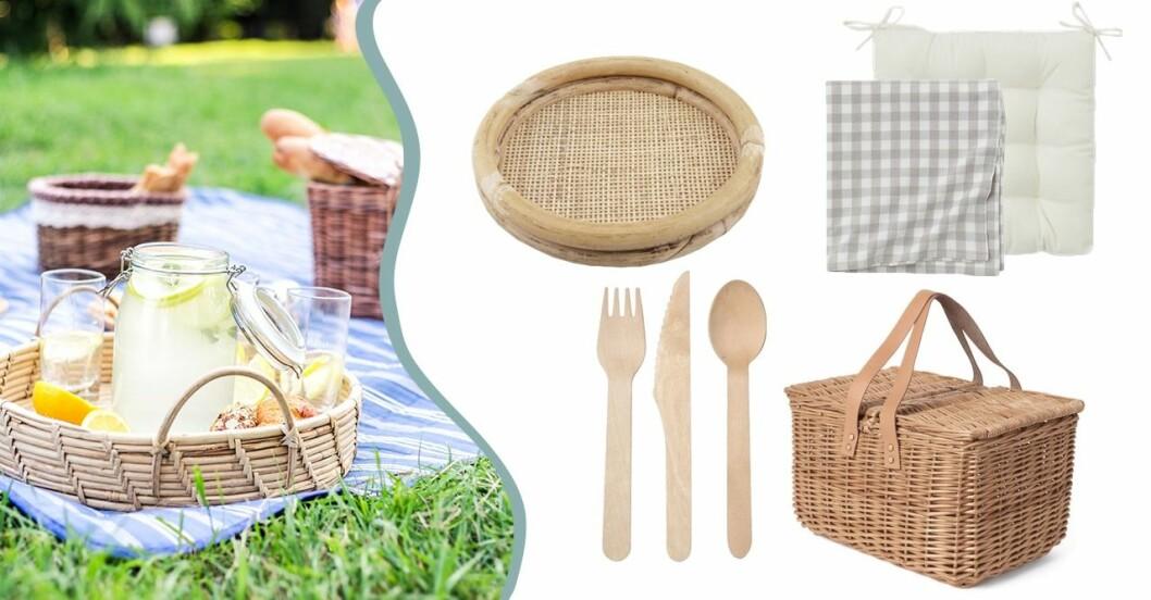 Tillbehör till picknick