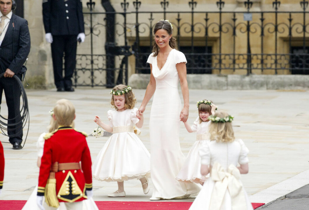 Pippa middleton bröllopet kate william