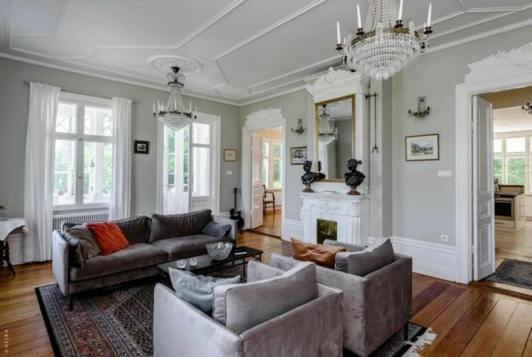 Huset som inspirerat Pippi Langstrums Villa Villekulla i Nacka, Stockholm, till salu