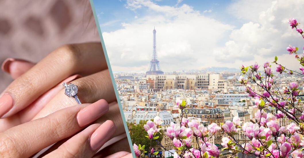 Fria i Paris är populärt och romantiskt enligt ny undersökning