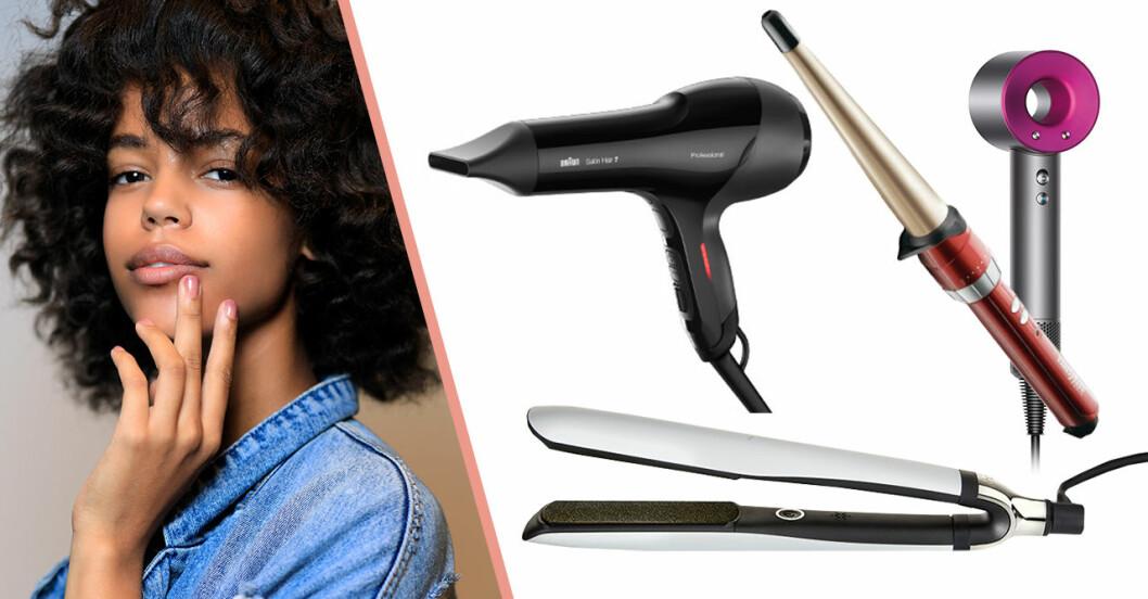 Tips på plattång, locktång och hårfön