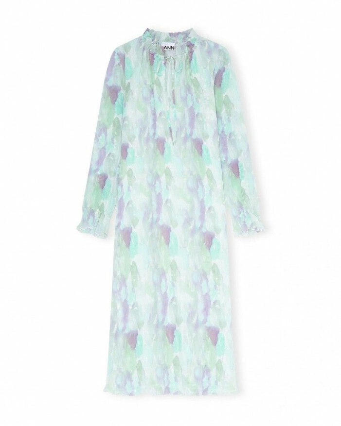 Pleated dress ganni