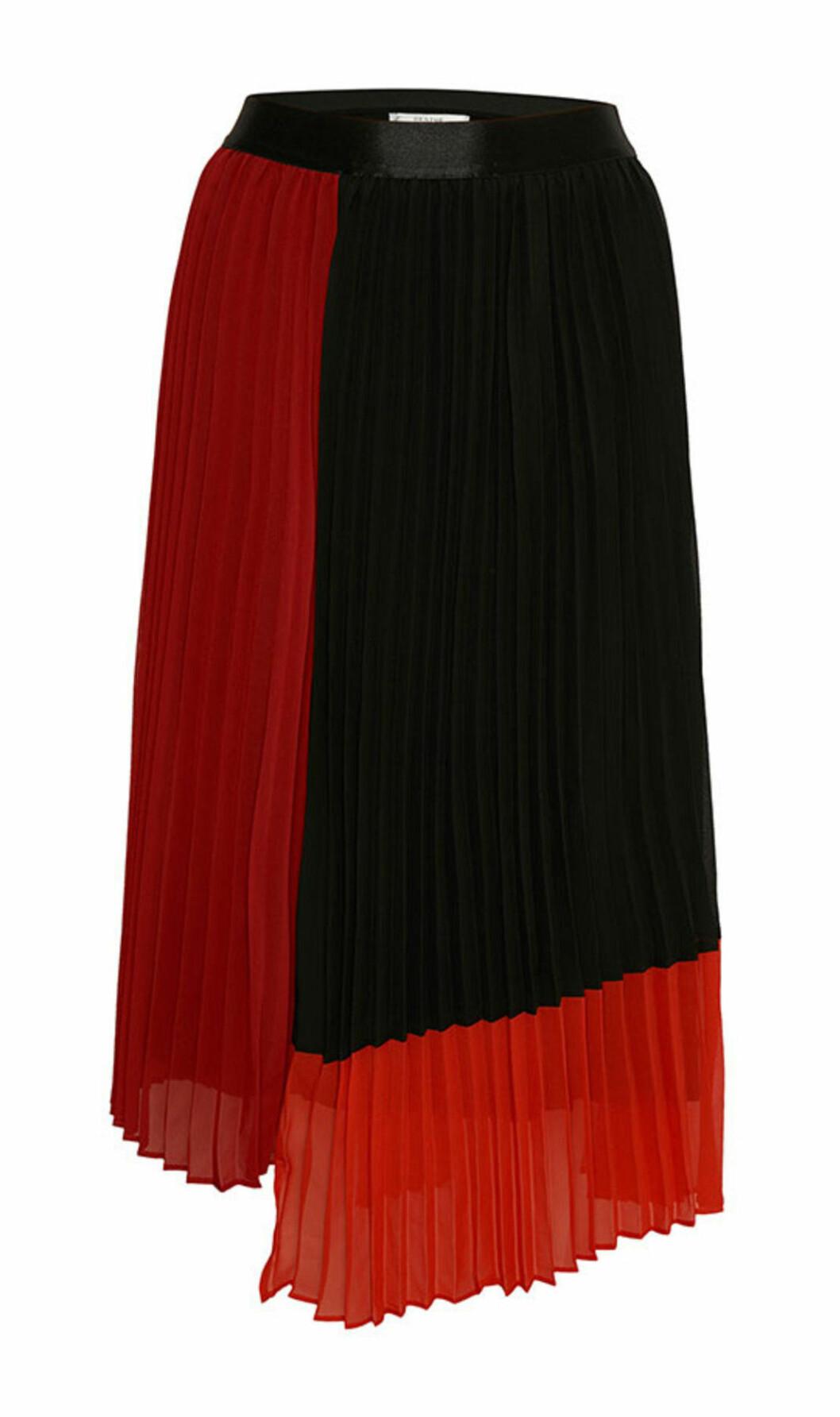 Plisserad kjol till hösten