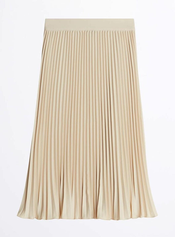 Plisserad kjol för dam till 2020