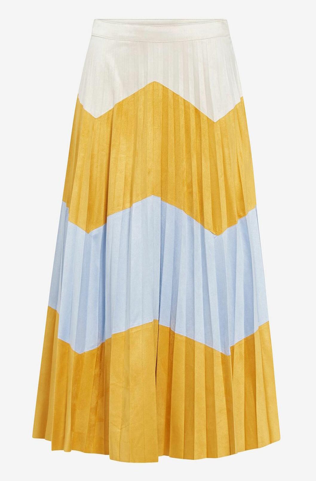 Gul kjol för dam till 2019