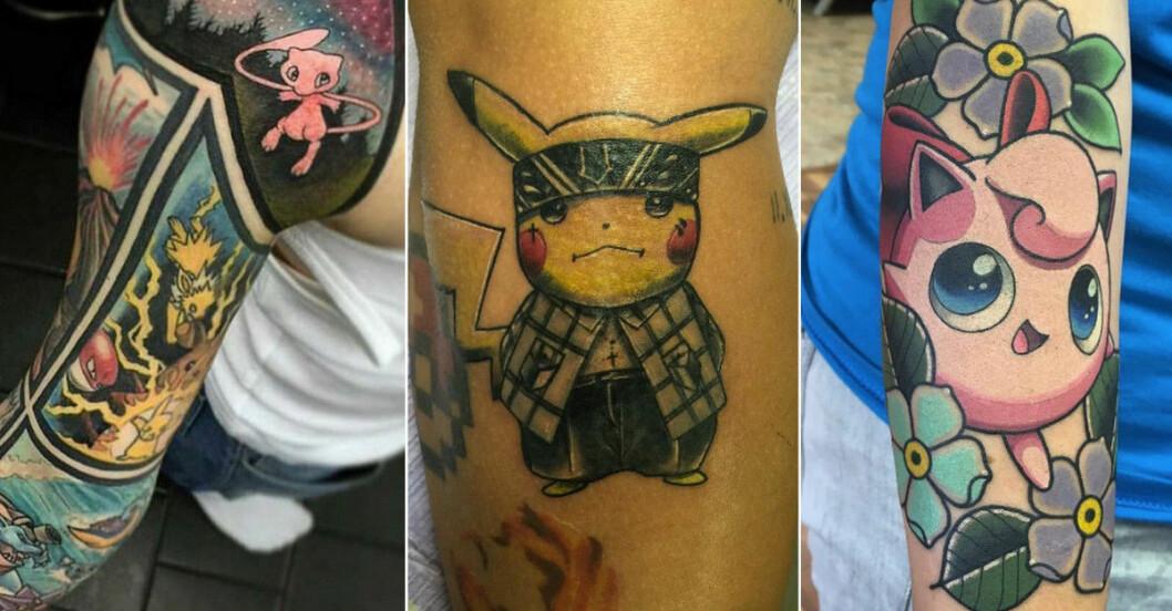 pokemon tatueringar