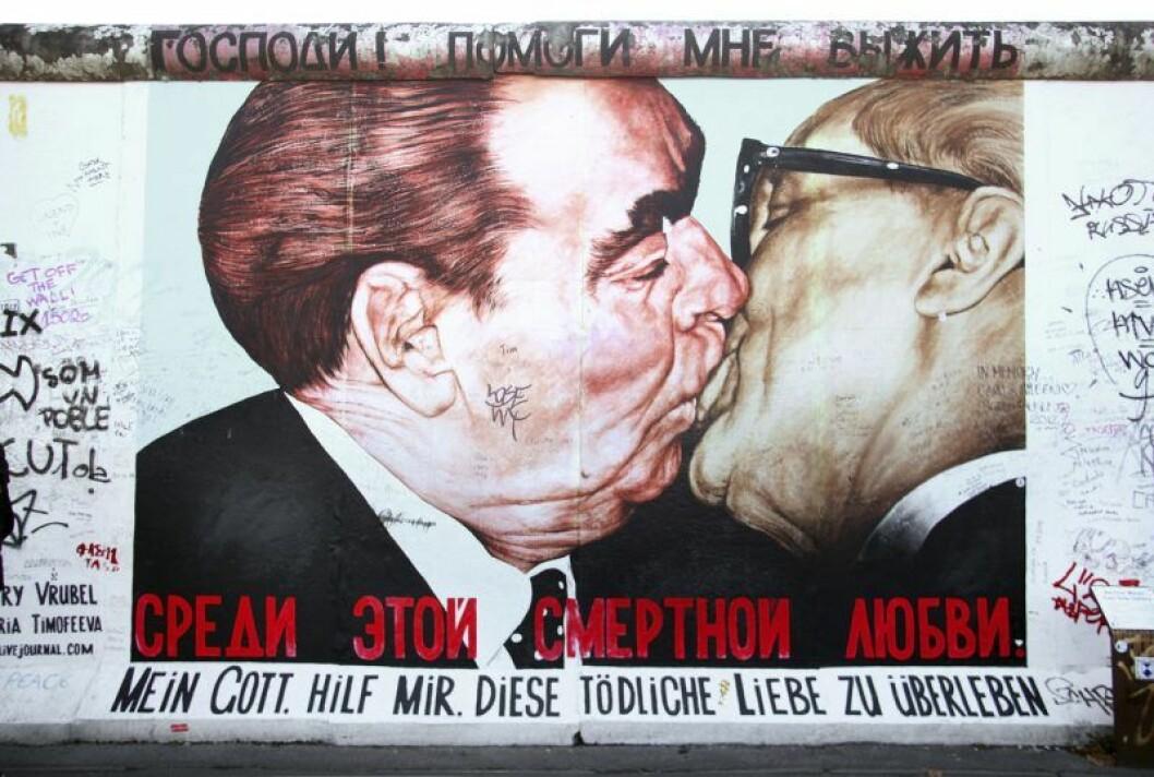 Politiska kyssar var vanliga förr.