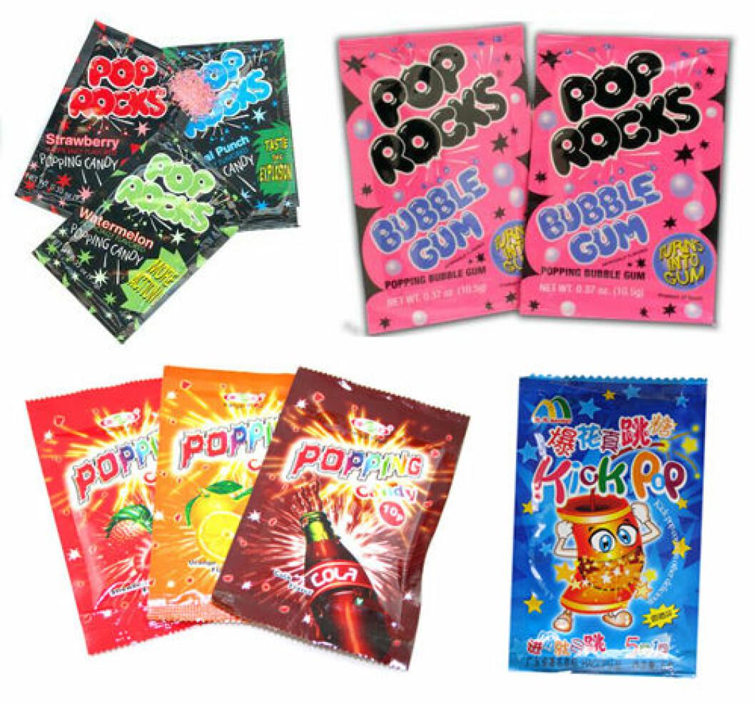 pop rocks 90-tal