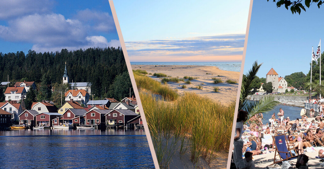 Populära resmål semester Sverige