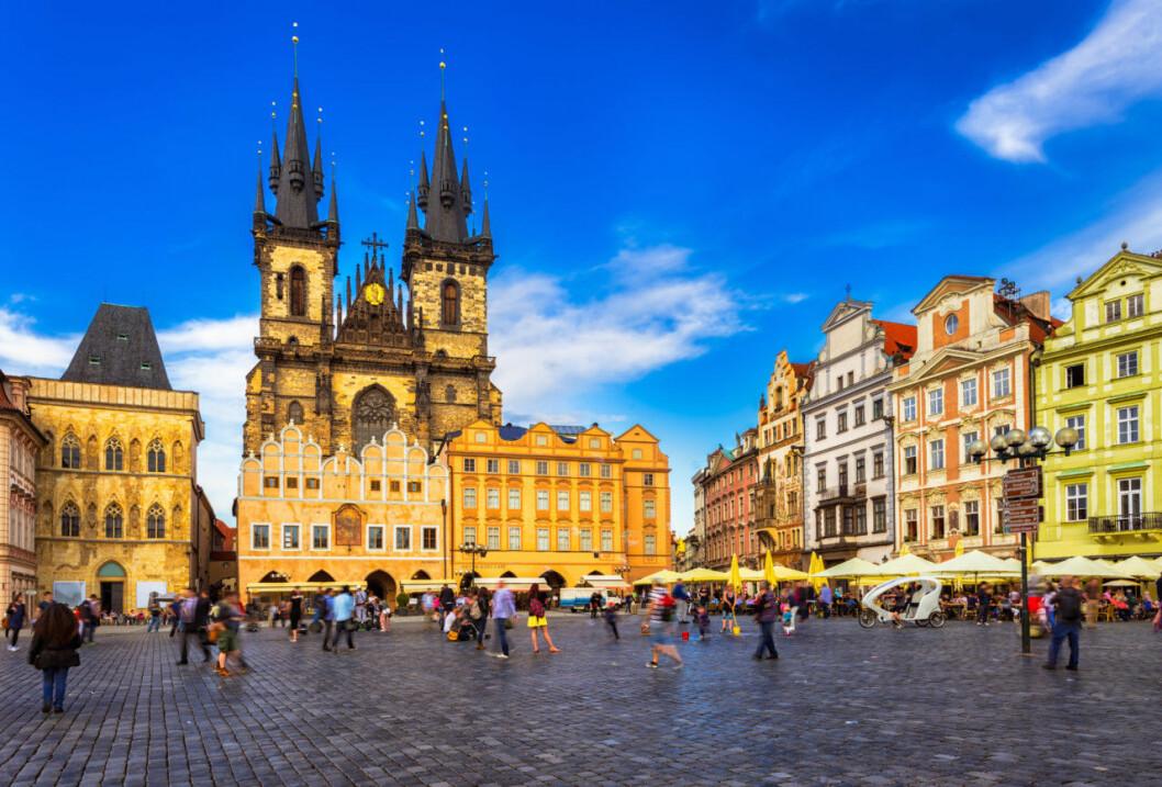 Prag weekend höst 2018