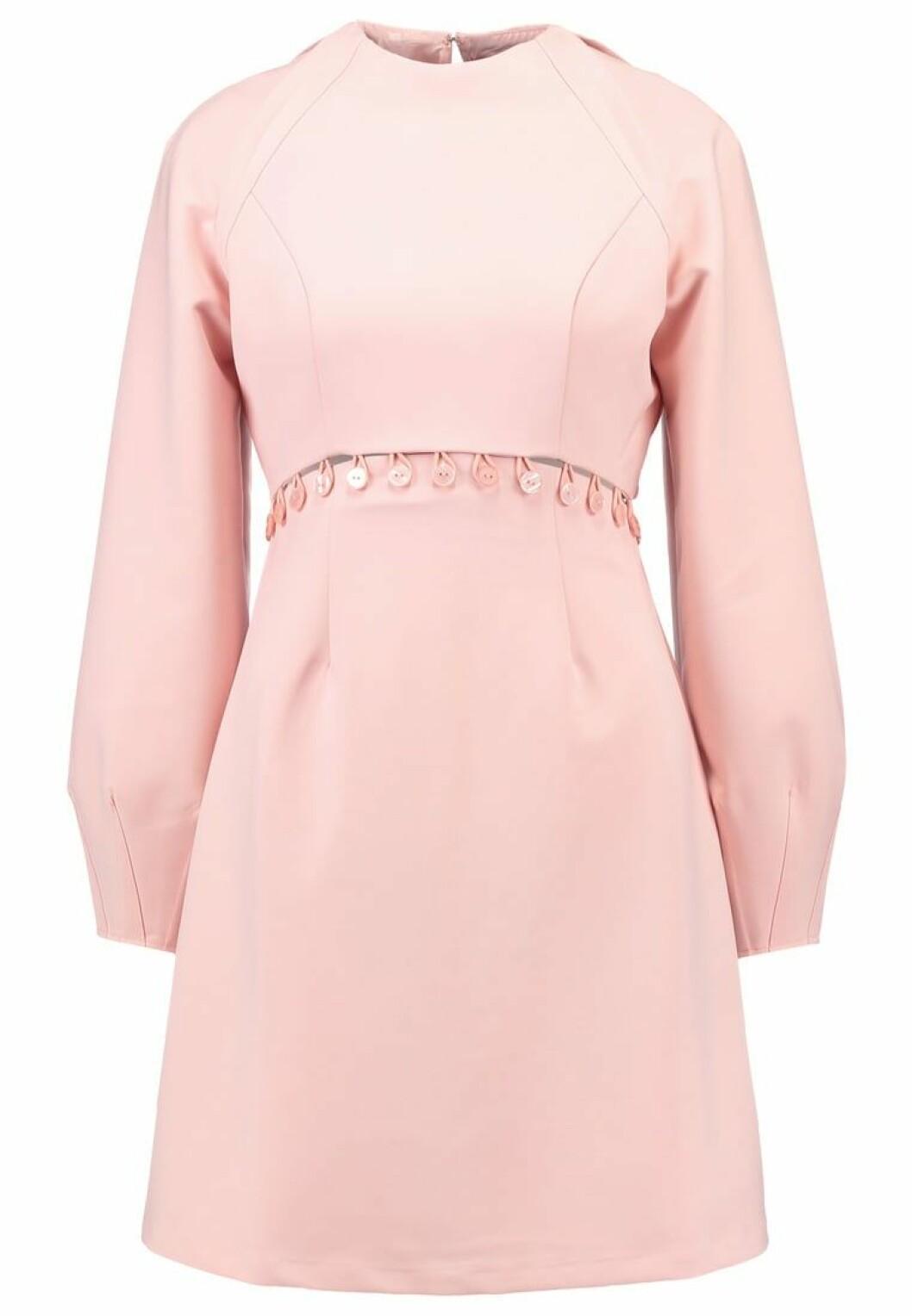 preppy rosa klänning