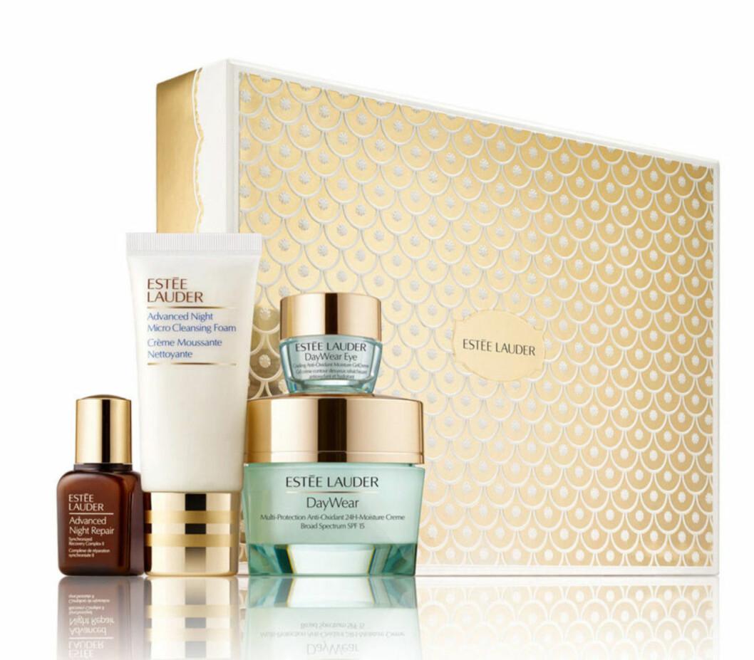 Presentbox med hudvårdsprodukter