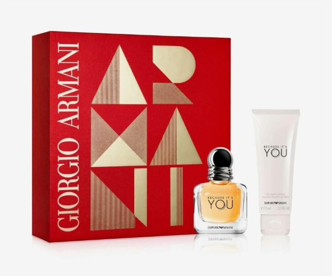 Presentbox med parfym